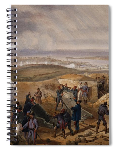 Commissariat Difficulties, Plate Spiral Notebook