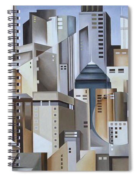 Composition Looking East Spiral Notebook