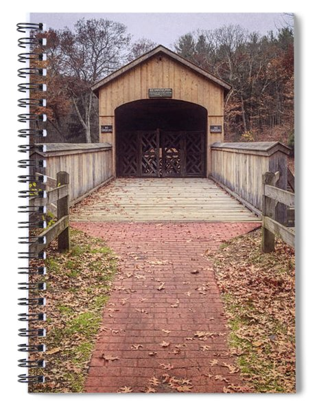 Comstock Covered Bridge 2 Spiral Notebook