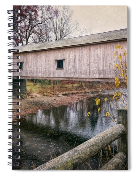 Comstock Covered Bridge Spiral Notebook