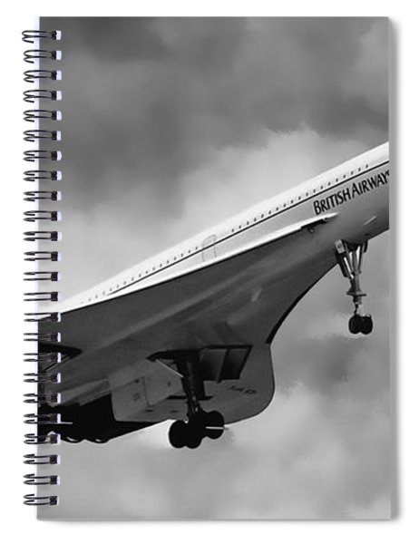 Concorde Supersonic Transport S S T Spiral Notebook
