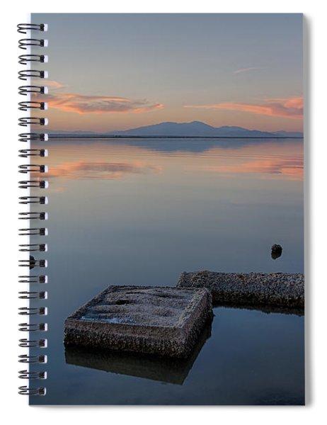 Concrete Floats Spiral Notebook