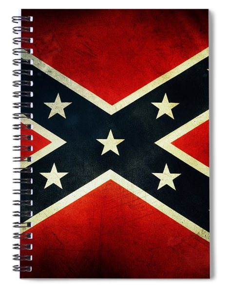 Confederate Flag 4 Spiral Notebook