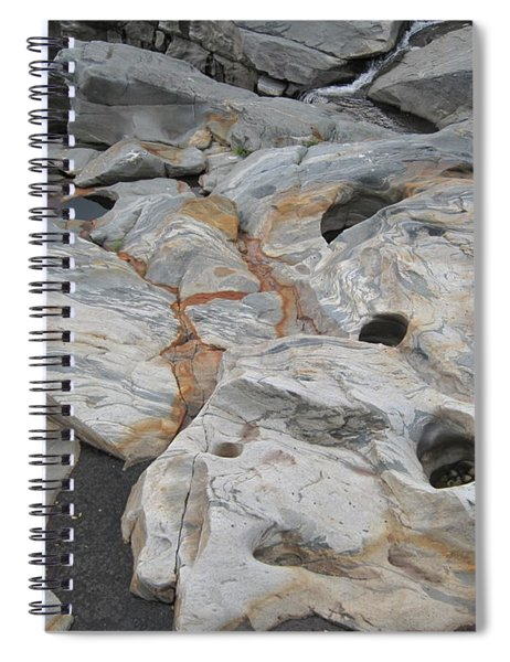 Connecticut River Bed Spiral Notebook