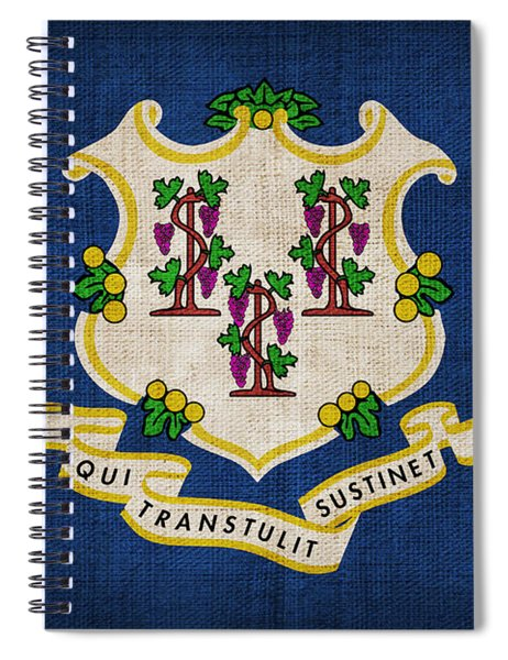 Connecticut State Flag Spiral Notebook