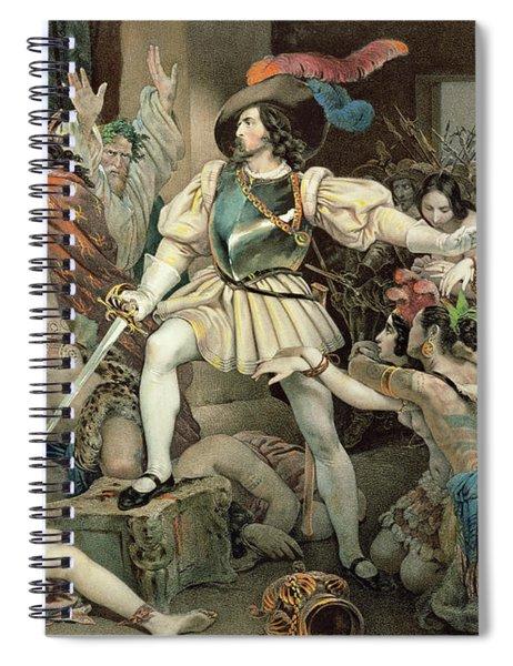 Conquest Of Mexico Hernando Cortes Spiral Notebook