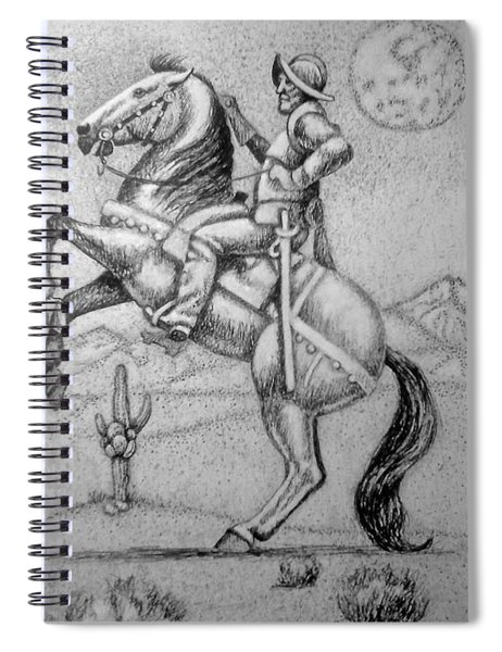 Conquistador Hernan Cortes Spiral Notebook