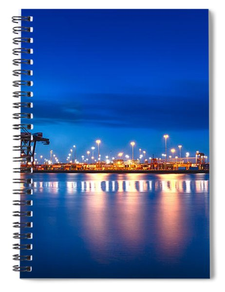 Freight Night Spiral Notebook