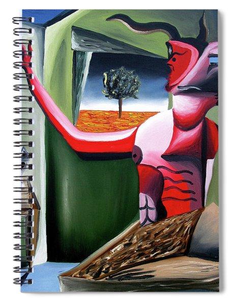 Contemplifluxuation Spiral Notebook