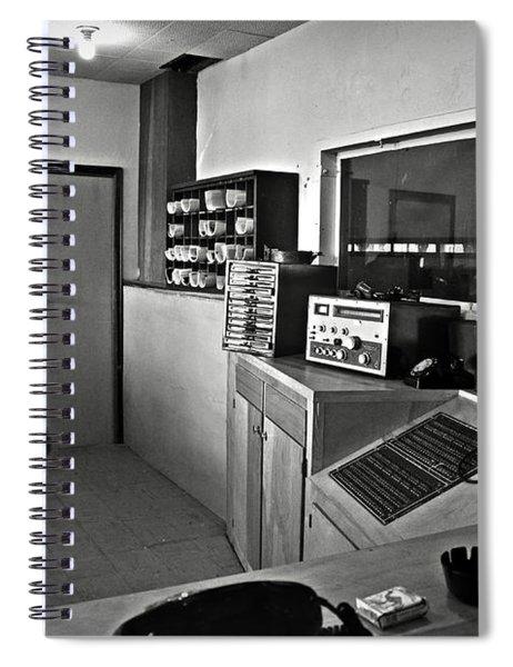 Control Room In Alcatraz Prison Spiral Notebook