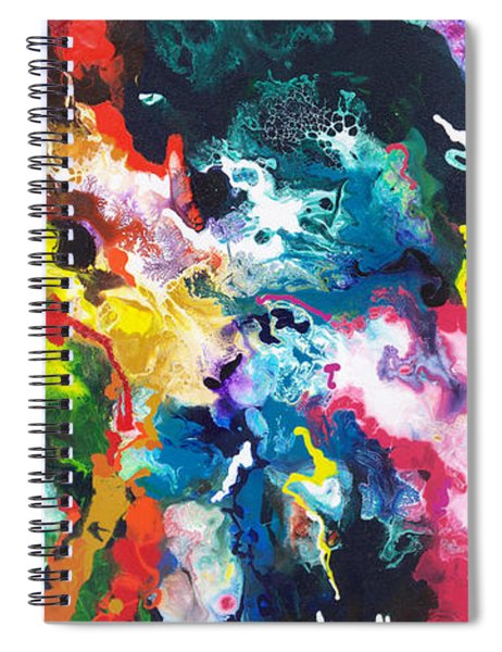 Convection Two Spiral Notebook