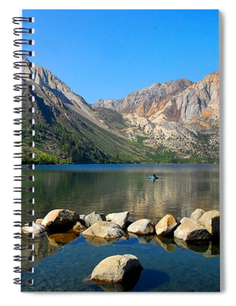 Convict Lake Panorama Spiral Notebook