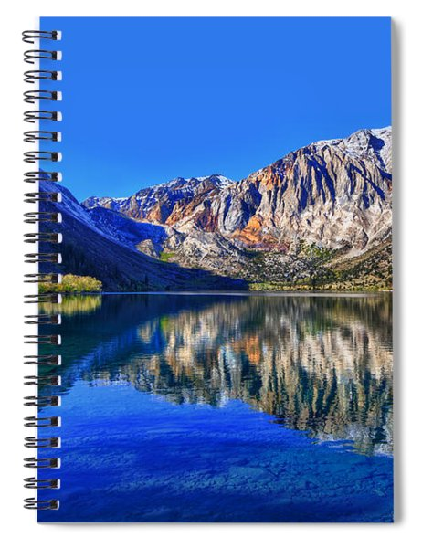 Convict Lake Reflections Spiral Notebook