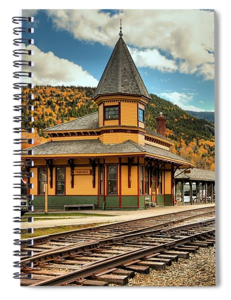 Conway Scenic Railroad Stop Spiral Notebook