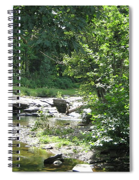 Cool Waters II Spiral Notebook