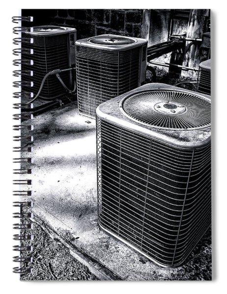 Cooling Power Spiral Notebook