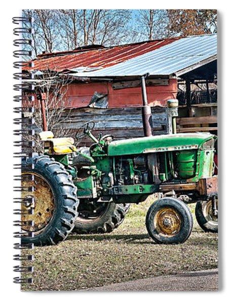 Coosaw - John Deere Tractor Spiral Notebook