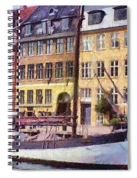 Copenhagen Spiral Notebook