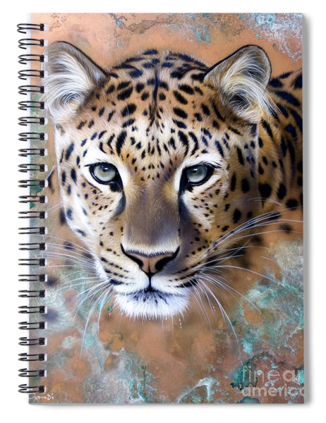 Copper Stealth - Leopard Spiral Notebook