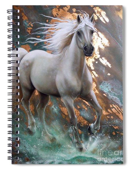 Copper Sundancer - Horse Spiral Notebook