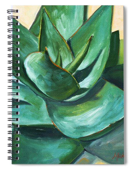 Coral Aloe 1 Spiral Notebook