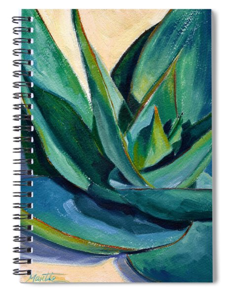 Coral Aloe 2 Spiral Notebook