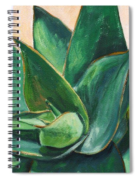 Coral Aloe 3 Spiral Notebook