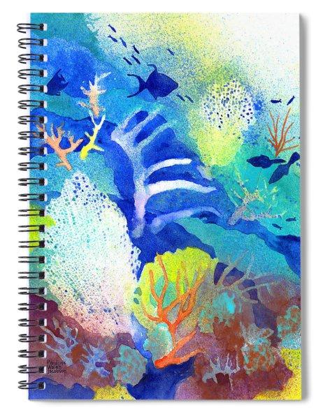 Coral Reef Dreams 3 Spiral Notebook
