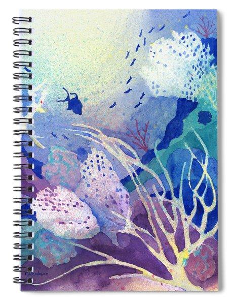 Coral Reef Dreams 4 Spiral Notebook