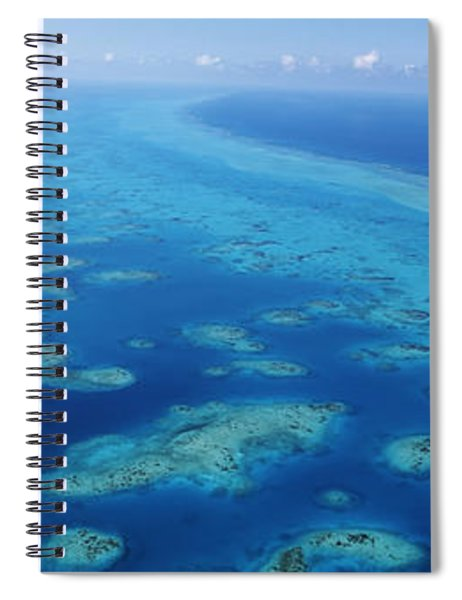 Coral Reef In The Sea, Belize Barrier Spiral Notebook