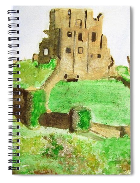 Corfe Castle Spiral Notebook