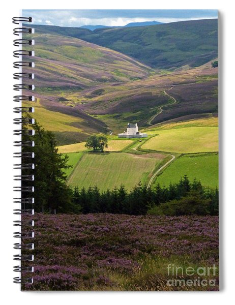 Corgarff Castle - Heather Hills Spiral Notebook