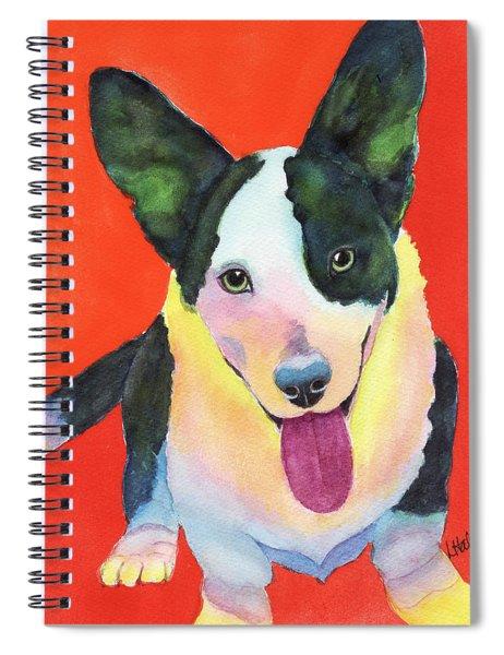 Corgi Spiral Notebook