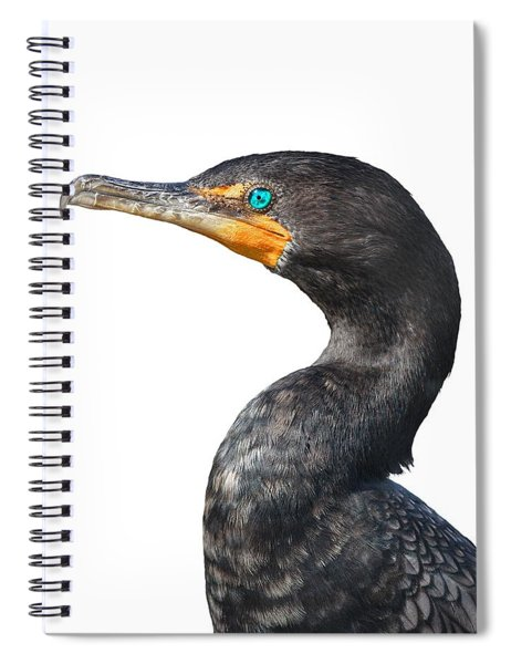 Cormorant Spiral Notebook