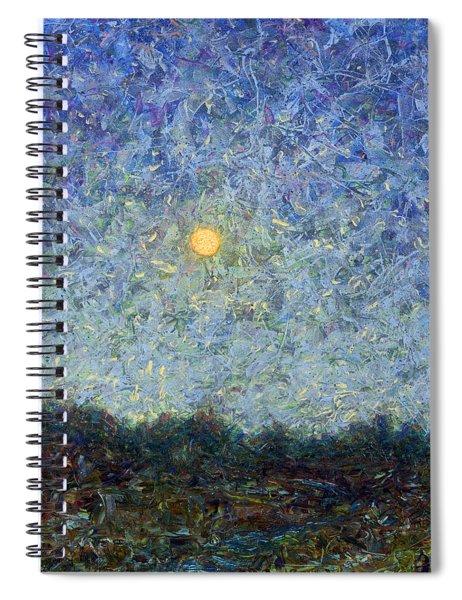 Cornbread Moon - Square Spiral Notebook