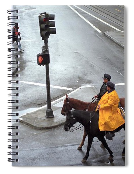 Corner Of Post And Powell Spiral Notebook