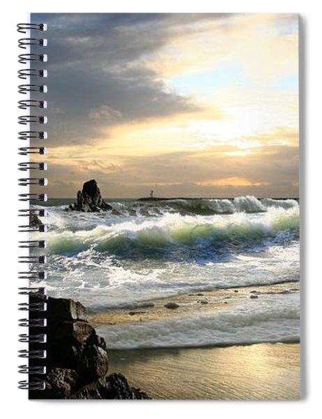 Corona De Oro Spiral Notebook