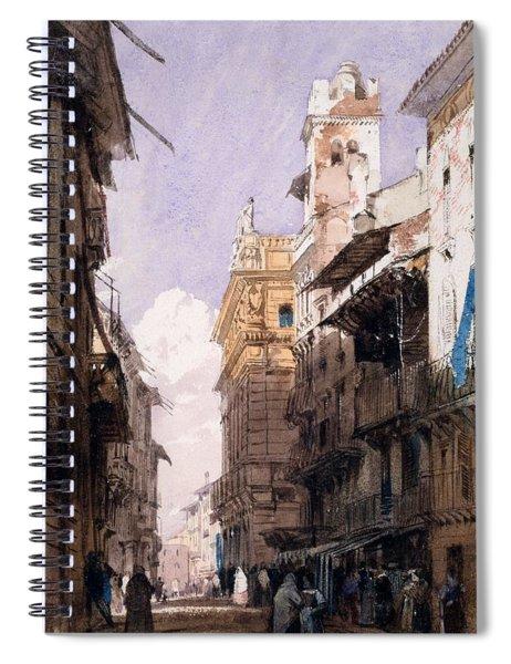 Corso Saint Anastasia, Verona Spiral Notebook