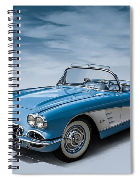Corvette Blues Spiral Notebook