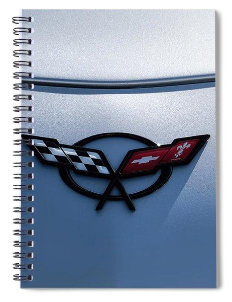 Corvette C5 Badge Spiral Notebook