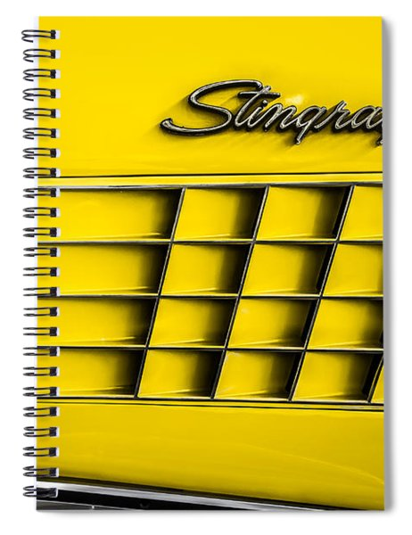 Corvette Gills Spiral Notebook