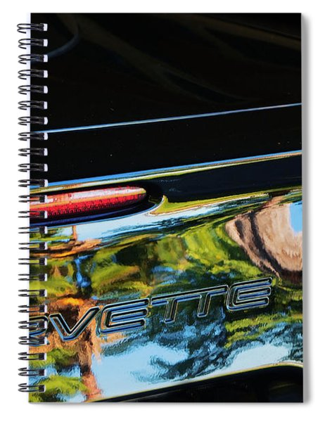 Corvette Reflection Spiral Notebook
