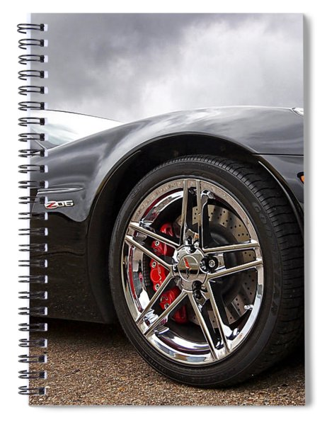 Corvette Z06 Spiral Notebook
