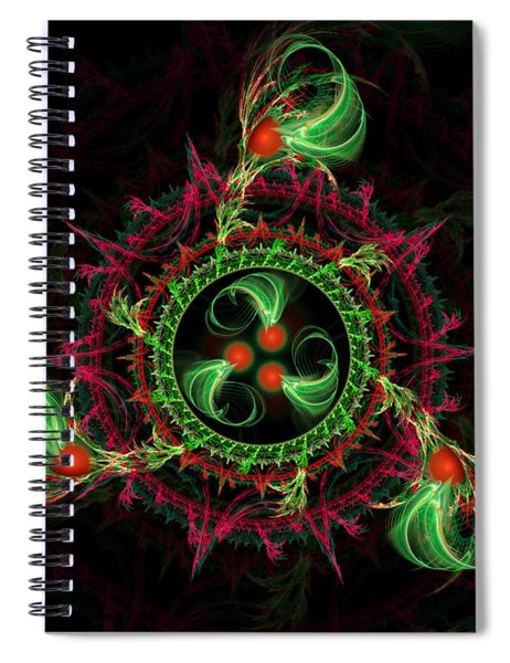 Cosmic Cherry Pie Spiral Notebook