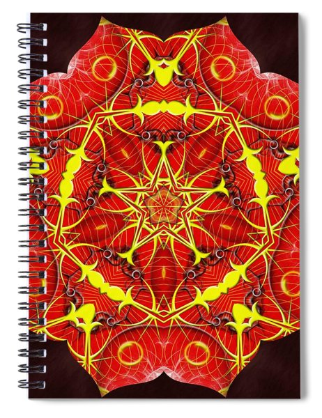 Cosmic Masculine Firestar Spiral Notebook
