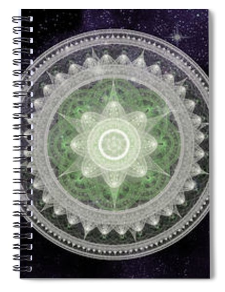 Cosmic Medallians Rgb 2 Spiral Notebook