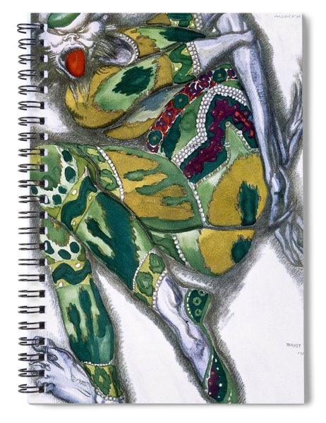 Costume Design For Seefenfel Spiral Notebook