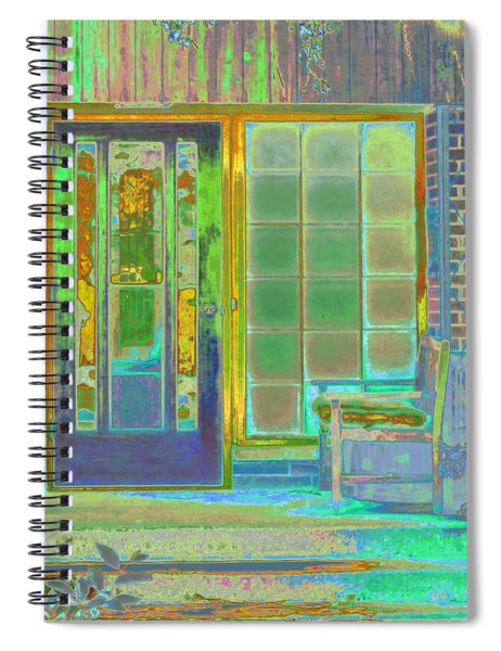 Cottage Porch Spiral Notebook