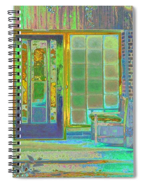 Cottage Porch Spiral Notebook