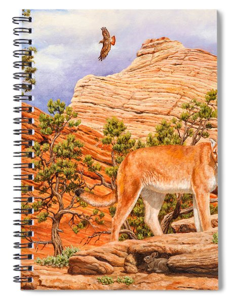 Cougar - Don't Move Spiral Notebook
